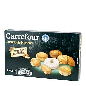 Carrefour Surtido mantecados y polvorones 2100 g
