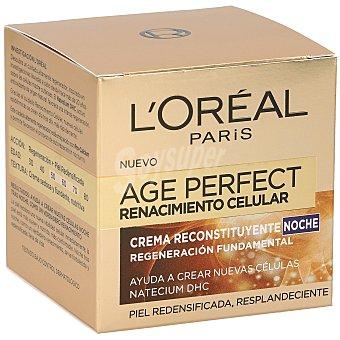 Age Perfect L'Oréal Paris crema de noche renacimiento celular reconstituyente  Tarro 50 ml