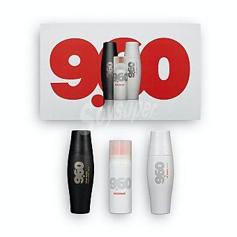 9.60 Lote hombre sport eau toilette (vaporizador 200 ml) + gel / champú (bote 200 ml) + desodorante sin gas (bote 75 ml) Estuche 3 u