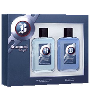 Brummel Estuche Colonia Coupe spray 125ml + after shave 125ml. 1 ud