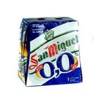 S.M.0 Cerveza 0 P-6 1/2palet
