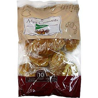 EL CORTE INGLES mini croissants artesanos envasados individualmente 10 unidades  bolsa 300 g