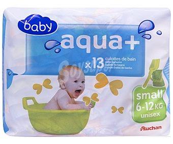 Auchan Pañales Bañador Pequeño 6-12kg 12 unidades
