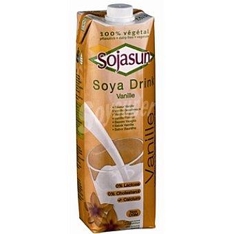 Sojasun bebida de soja sabor vainilla 100% vegetal  envase 1 l