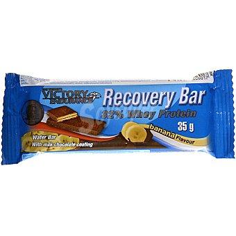 VICTORY ENDURANCE Wafer de proteínas sabor chocolate con leche y banana Recovery Bar Envase 35 g