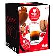 Café intenso en cápsulas compatible con Dolce Gusto 16 unidades de 7 g Origen & Sensations