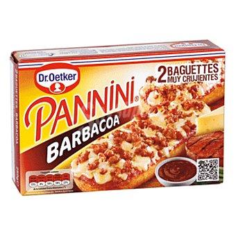 Dr. Oetker Paninis a la barbacoa Pack 2x125 g