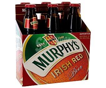 Murphy's Cerveza irlandesa roja Botellín 33 cl
