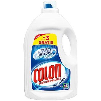 Colón Detergente máquina Easy Clean líquido gel botella 43 dosis + 3 gratis 46 lavados