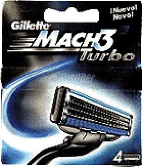 MACH 3 Turbo Cargador 4 UNI