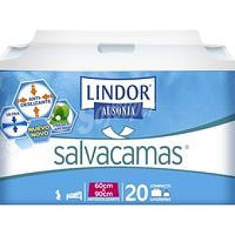 LINDOR Salvacamas 60x90 Paquete 20 unid