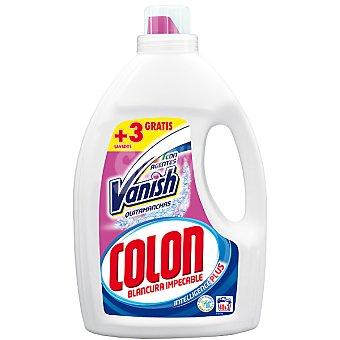 Colón Detergente máquina líquido gel con agentes Vanish quitamanchas botella 40 dosis Botella 40 dosis