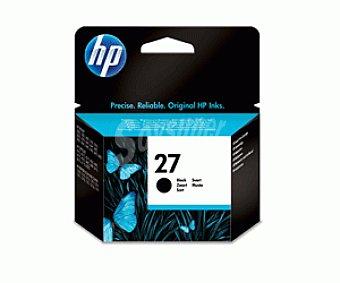 HP Cartuchos de Tinta N27 Negro HP (C8727A) 1 Unidad- Compatible con Impresoras: 1 Unidad