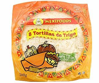 Mexifoods Tortillas de Trigo Pack de 8x500gr