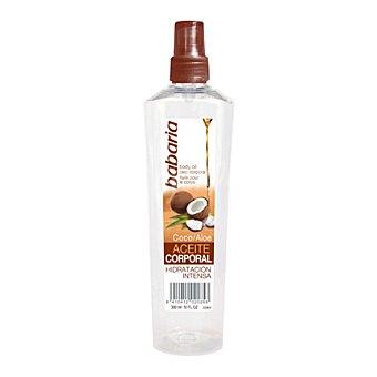 Babaria Aceite Corporal Coco y Aloe Hidratación Intensa 300 ml