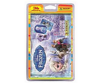 PANINI Blíster  de Photocards Frozen, cada sobre contiene 6 photocards Pack de 6 sobres