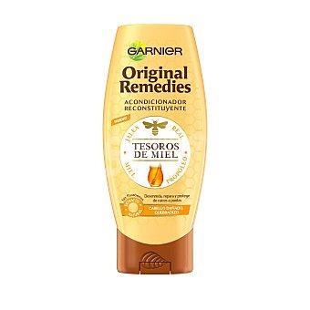 ORIGINAL REMEDIES Acondicionador reconstituyente tesoros de miel para cabello dañado y quebradizo Frasco de 200 ml