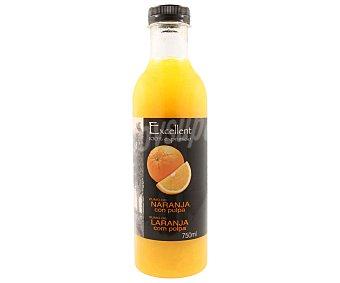 Excellent Zumo refrigerado y exprimido de naranja Botella de 75 cl