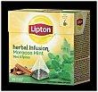 Infusión Morocco (escaramujo aromatizado con canela, hierbabuena y especias) 20 uds Lipton