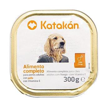 Katakán Alimento húmedo para perros adultos con pollo Tarrina 300 g