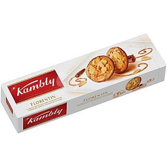 KAMBLY Florentin Galletas con chocolate y almendras caramelizadas Estuche 100 g