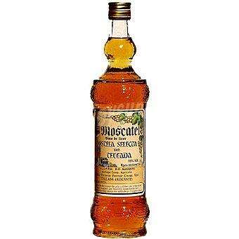 Teulada Vino blanco dulce de licor mistela selecta de moscatel DO Alicante Botella 75 cl