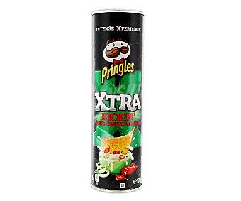 Pringles Kickin' Sour Cream & Onion tubo 175 g tubo 175 g