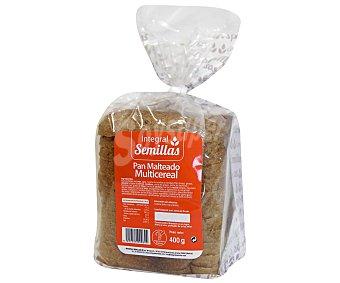 Pan Especial Pan Integral Semillas Malteado Multicereales 400 Gramos