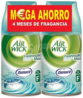 Air Wick ambientador automático Nenuco formato ahorro recambio  2 unidades