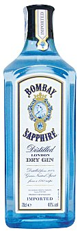 Bombay Sapphire Ginebra 70 cl