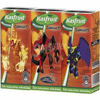 Kasfruit Zumo de melocotón Pack de 3x200 ml