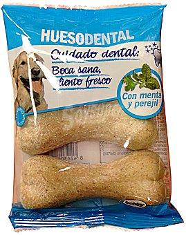 Bobby Comida perro snack hueso dental (con menta y perejil) 3 X 64 g