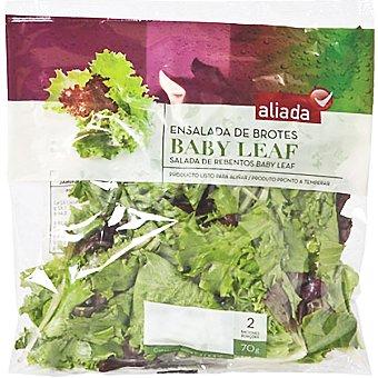 Aliada Ensalada de brotes baby Bolsa 70 g