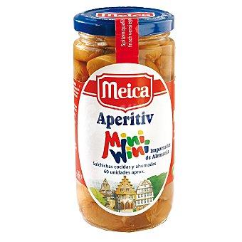 Meica Salchichas 60 piezas aperitivo Frasco 250 g neto escurrido