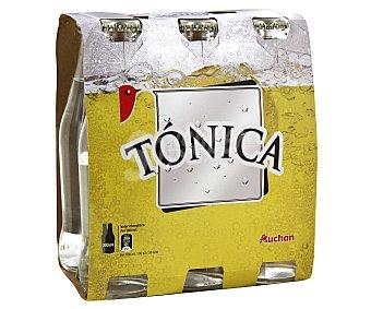 Auchan Tónica Botella de 20 centilitros pack de 6