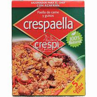 Crespi Especia Paella De Carne y Guisos 5 Sobres 20 g