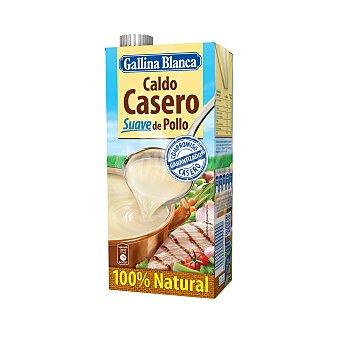 Gallina Blanca Caldo casero suave de pollo 100% Natural 1 l