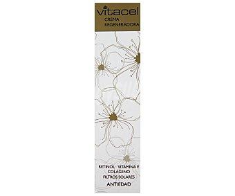 VITACEL Crema facial antiedad regeneradora para cara y cuello 50 mililitros