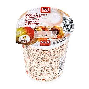 DIA Yogur con albaricoque-mango envase 200 g Envase 200 g