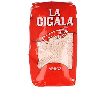 La Cigala Arroz redondo envasado al vacío 1 kilogramo