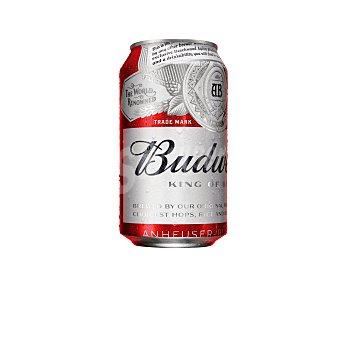 Budweiser Cerveza Lata de 33 centilitros