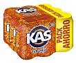 Refresco de naranja Pack 9 latas de 33 cl Kas