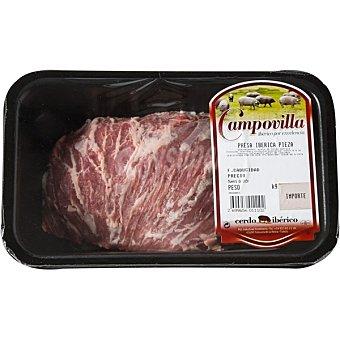 CAMPOVILLA Presa entera fresca de cerdo ibérico Bandeja 500 g peso aprox.