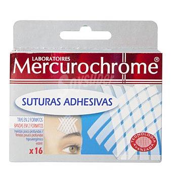 Mercurochrome Apósito para suturas Caja 16 unid