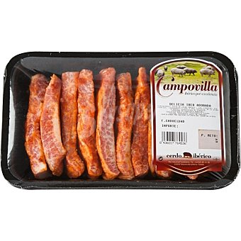 CAMPOVILLA Delicias de secreto de cerdo ibérico adobadas Unidad 300 g