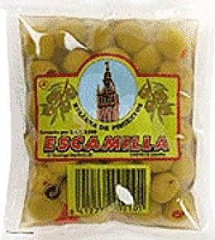 Escamilla Aceituna verde manzanilla relleno de pasta de pimiento 200 g