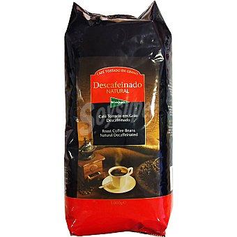 El Corte Inglés Café descafeinado en grano Bolsa 1 kg