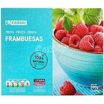 Eroski Frambuesas Caja 300 g