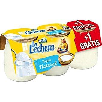 La Lechera Nestlé Yogur natural + 1 gratis Pack 2 unidades 125 g