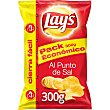 Patatas fritas lisas con sal al punto de sal Bolsa de 300 g Lay's